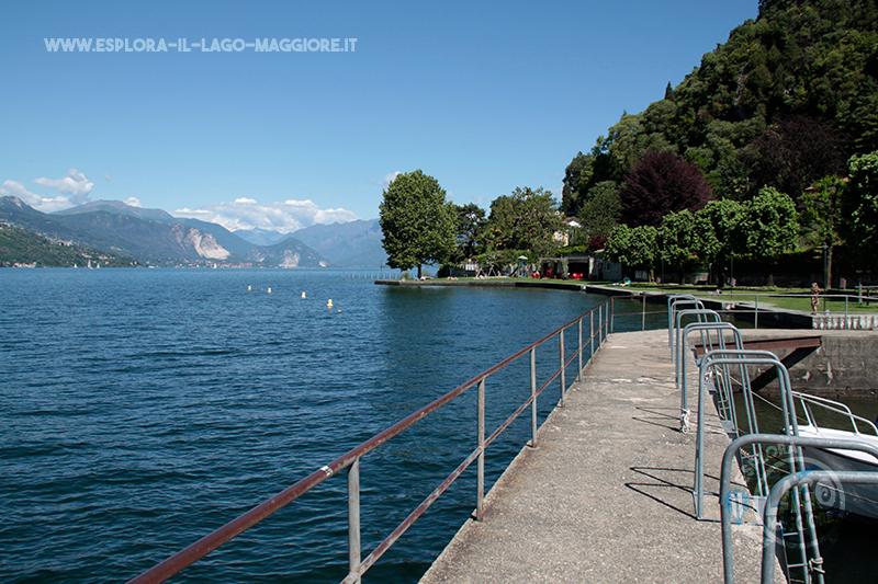 Matrimonio Spiaggia Lago Maggiore : Spiaggia di arolo a leggiuno sul lago maggiore esplora